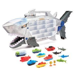 Matchbox Hotwheels Cars Shark Transporter